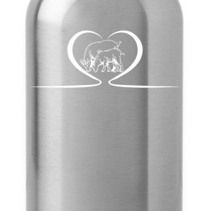 Goat Heart Shirts - Water Bottle