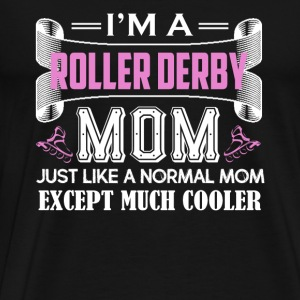 Roller Derby Mom Shirt - Men's Premium T-Shirt