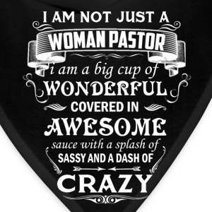 Woman Pastor Shirt - Bandana