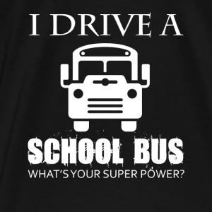 School Bus Driver Shirts - Men's Premium T-Shirt