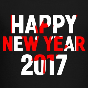 Happy New Year 2017 Red white - Toddler Premium T-Shirt