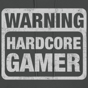 Warning Hardcore Gamer T-Shirts - Women's Hoodie