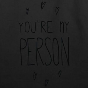 You're my person - Eco-Friendly Cotton Tote
