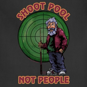 Shoot pool Not People Tote bag - Adjustable Apron