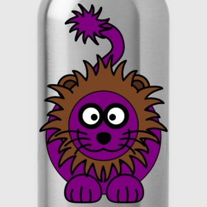 Purple Lion - Water Bottle