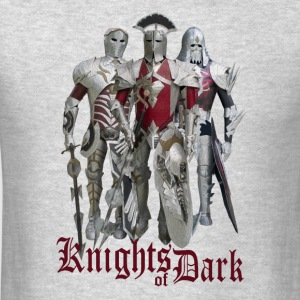 Knights of Dark Long Sleeve Shirts - Men's T-Shirt