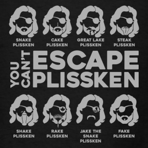 Many Faces of Plissken Hoodies - Men's T-Shirt