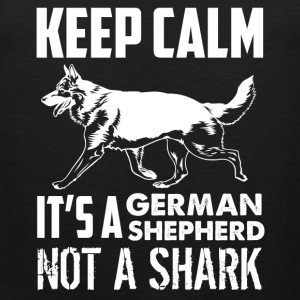 German Shepherd Tee Shirt - Men's Premium Tank