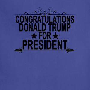 congratulations_donald_trump_for_presideNT - Adjustable Apron