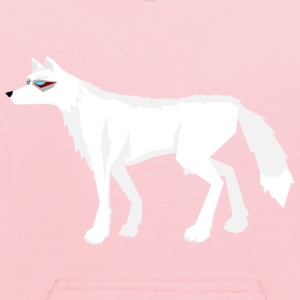 Frost wolf without background - Kids' Hoodie