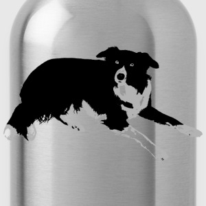Border Collie - Water Bottle