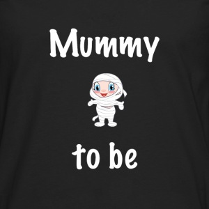 Mummy to be - Men's Premium Long Sleeve T-Shirt