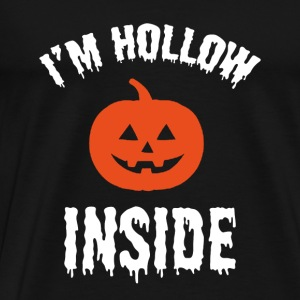 I'm Hollow Inside - Men's Premium T-Shirt