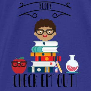 Books Check Em Out Bags & backpacks - Men's Premium T-Shirt