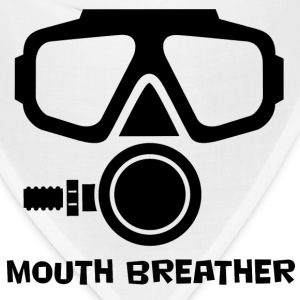 Mouth Breather Scuba T-Shirts - Bandana