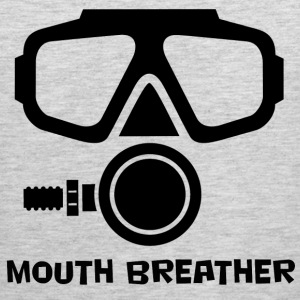 Mouth Breather Scuba T-Shirts - Men's Premium Tank