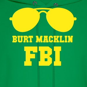 Parks and Recreation Burt Macklin FBI TV & Movies  T-Shirts - Men's Hoodie