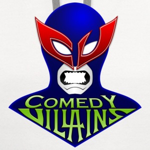 Men's Comedy Villains T-Shirt - Contrast Hoodie