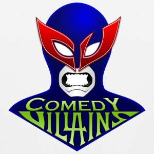 Men's Comedy Villains T-Shirt - Men's Premium Tank