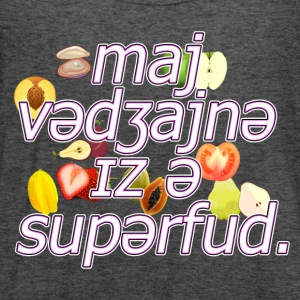 Superfood My - 1 T-Shirts - Women's Flowy Tank Top by Bella