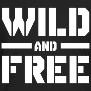 Wild and Free T-Shirts - Men's Premium Long Sleeve T-Shirt