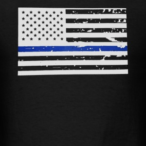 The Thin Blue Line Shirt - Men's T-Shirt