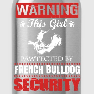 French Bulldog Shirt - Water Bottle