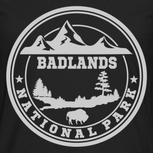 BADLANDS11.png T-Shirts - Men's Premium Long Sleeve T-Shirt
