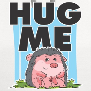 HUG ME CUTE HEDGEHOG PREMIUM KID T-SHIRT - Contrast Hoodie