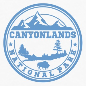 CANYONLANDS13.png Mugs & Drinkware - Men's Premium Long Sleeve T-Shirt