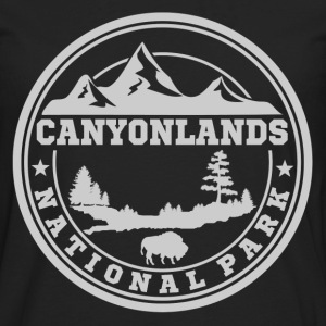 CANYONLANDS12.png T-Shirts - Men's Premium Long Sleeve T-Shirt