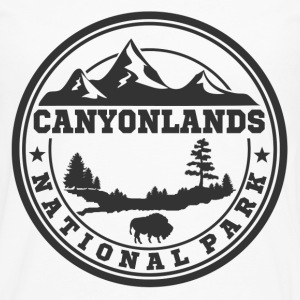 CANYONLANDS11.png T-Shirts - Men's Premium Long Sleeve T-Shirt