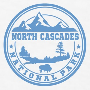 NORTH CASCADES 13.png Mugs & Drinkware - Men's T-Shirt