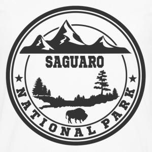 SAGUARO11.png T-Shirts - Men's Premium Long Sleeve T-Shirt