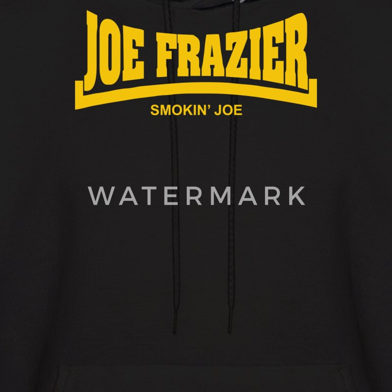 Joe Frazier Smokin Joe - Men's Hoodie