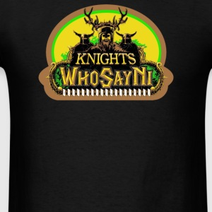 Knights Who Say Ni - Men's T-Shirt