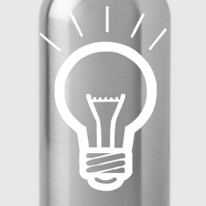 LIGHT BULB funny - Water Bottle
