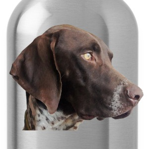 German Shorthaired pointer T-Shirts - Water Bottle