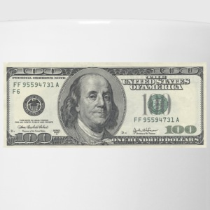 One Hundred Dollar Bill ($100) - Coffee/Tea Mug