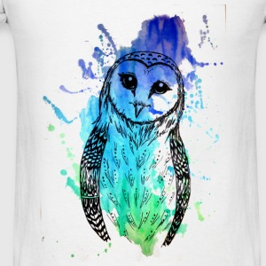 Barn Owl Tank - Men's T-Shirt