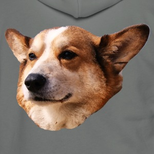 Welsh Corgi T-Shirts - Unisex Fleece Zip Hoodie by American Apparel
