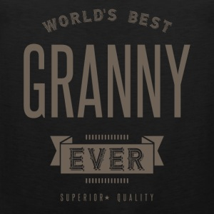 World's Best Granny Ever - Men's Premium Tank