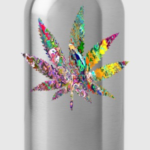 Trippy Weed Hoodies - Water Bottle