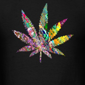 Trippy Weed Tanks - Men's T-Shirt