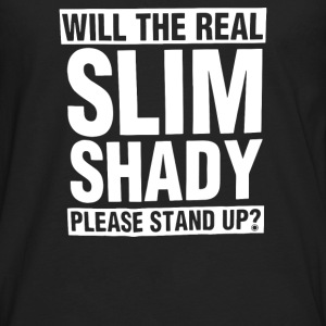 Please Stand Up - Men's Premium Long Sleeve T-Shirt