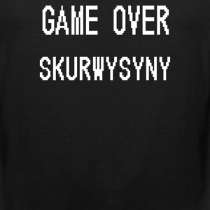 Game Over Skurwysyny - Men's Premium Tank