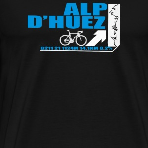 Tour De France Alp D'Huez Cycling - Men's Premium T-Shirt