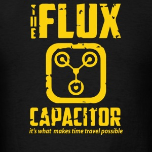 Back To The Future Inspired Flux Capacitor - Men's T-Shirt