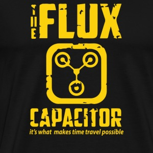 Back To The Future Inspired Flux Capacitor - Men's Premium T-Shirt
