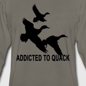 addicted_to_quack_tshirt_ - Men's Premium Long Sleeve T-Shirt